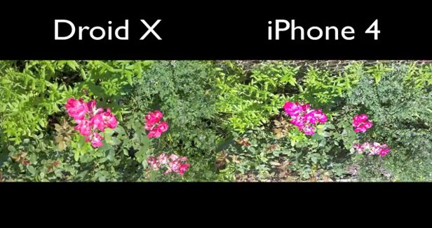 Droid X Camera Comparison vs Incredible and iPhone 4 | Zollotech