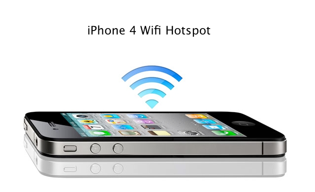 iphone 4 wifi hotspot zollotech. Black Bedroom Furniture Sets. Home Design Ideas